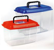 Travel box plastic aquarium medium