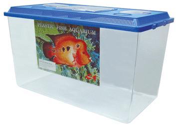 5l plastic aquarium 4l plastic aquarium 4l 235mm l x 152mm w x 166mm ...