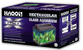Rectangular Glass Aquarium X-620