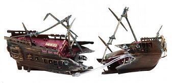 Split shipwreck
